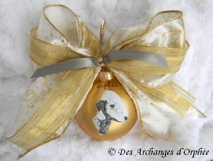 Boule de Noël d'Orphée.