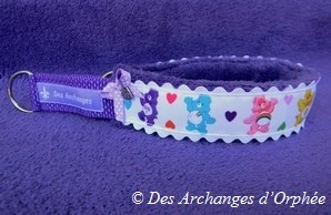 Collier martingale Bisounours.