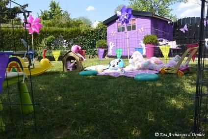 Tout est prêt pour la garden party !