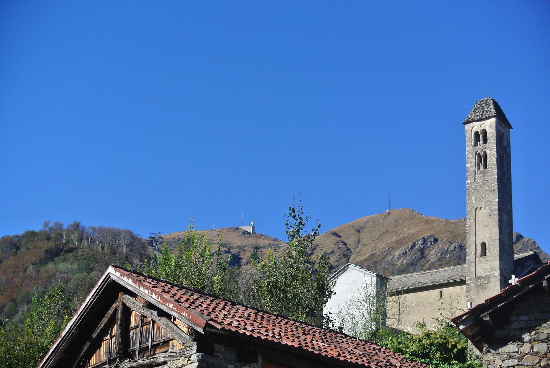vue de Miglieglia sur le Monte Lema