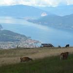 vista dal Monte Lema sui Lago Maggiore
