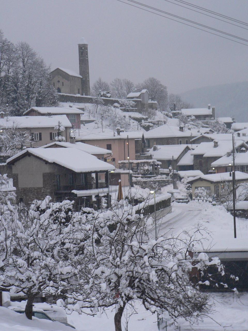 miglieglia sous la neige