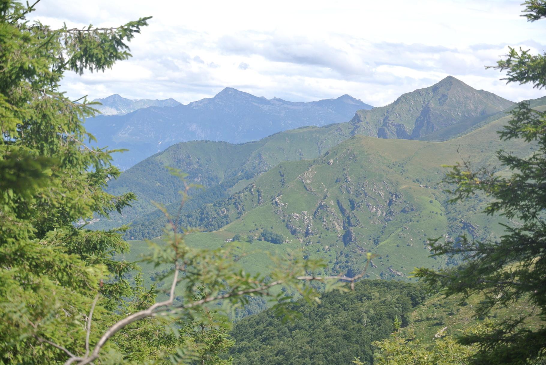 vista dal Monte Lema