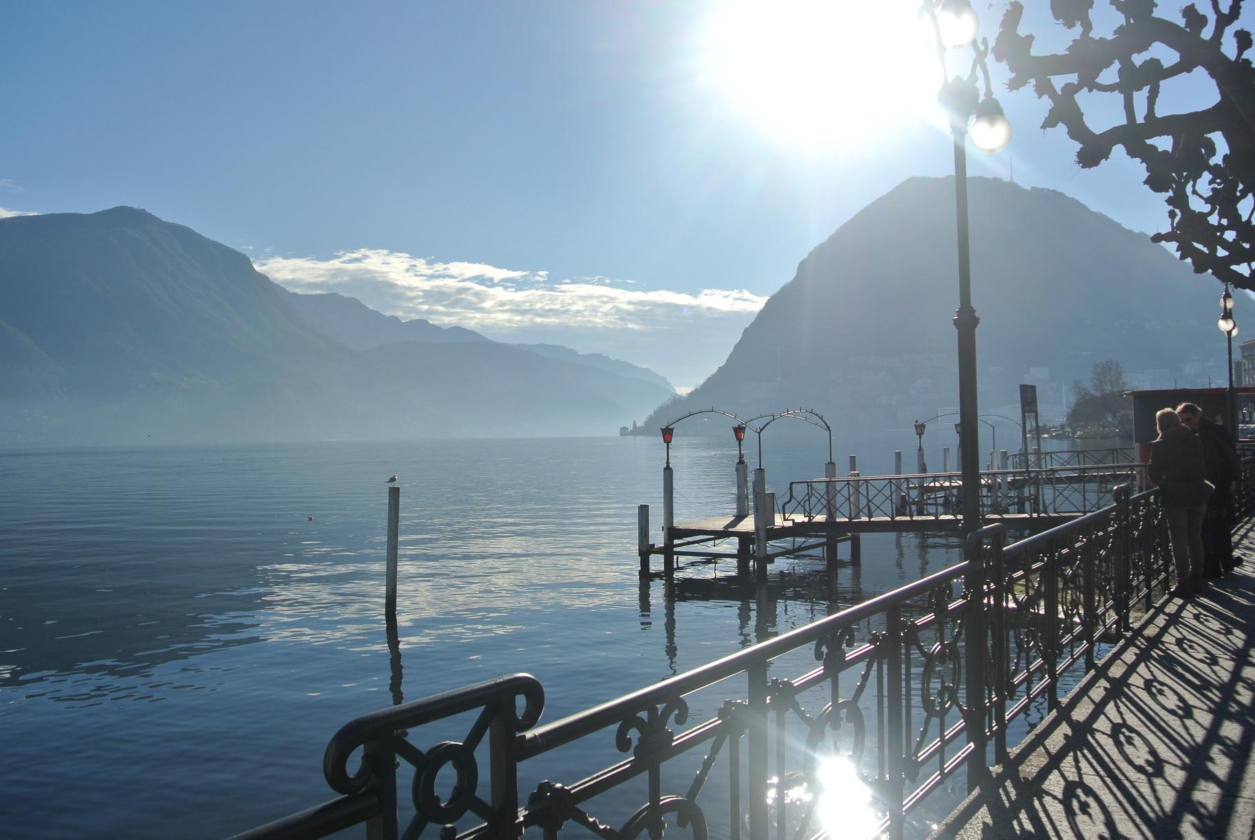 Vista sul Lago di Lugano ( Lugano)