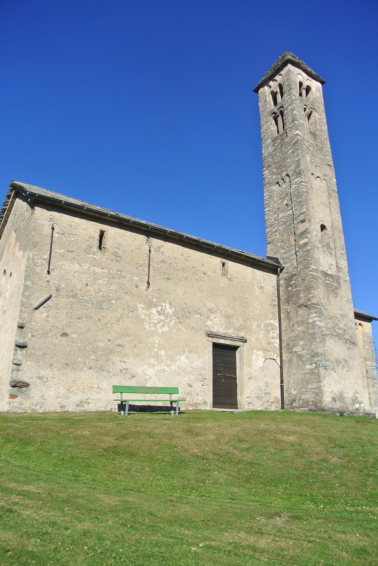 l'église Santo Stefano Al Colle