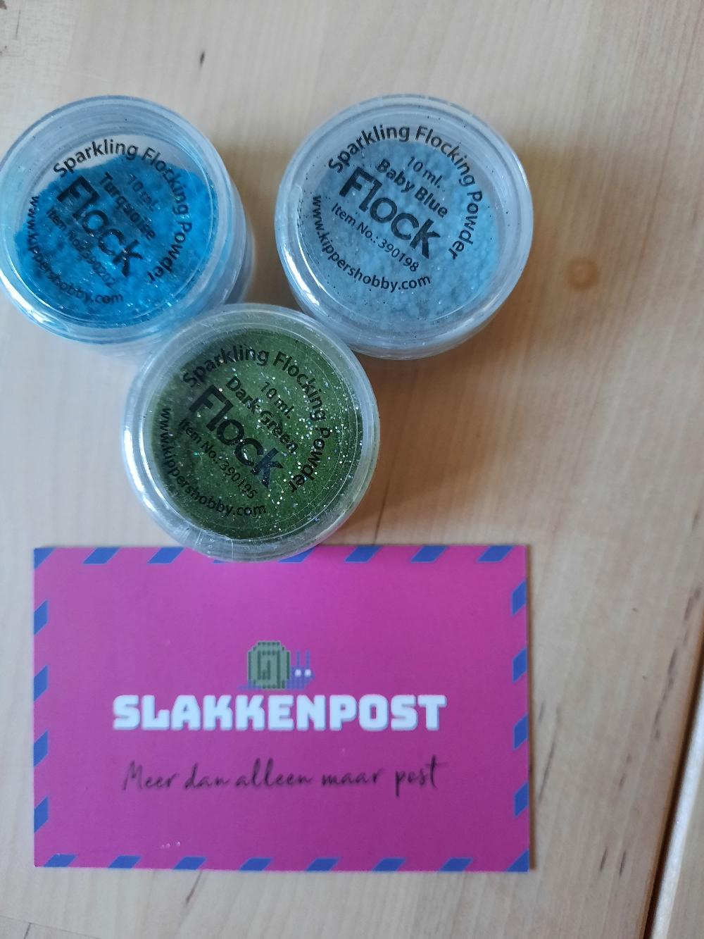 Sparkling Flocking Powder - slakkenpost.nl
