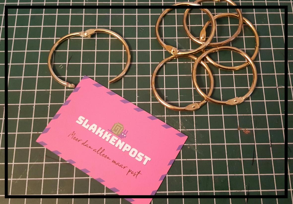 slakkenpost - binder-ring