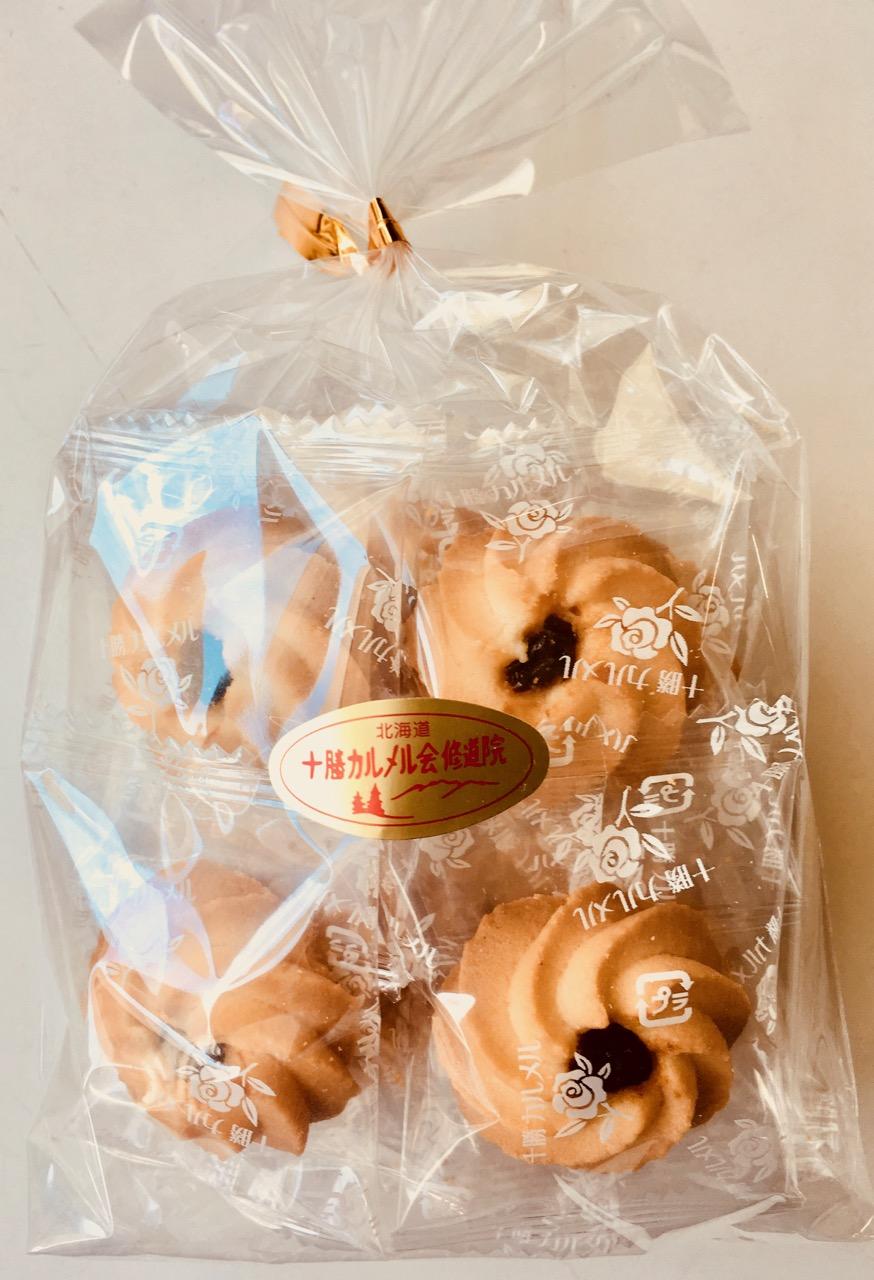 十勝カルメル会クッキーラムレーズン¥370