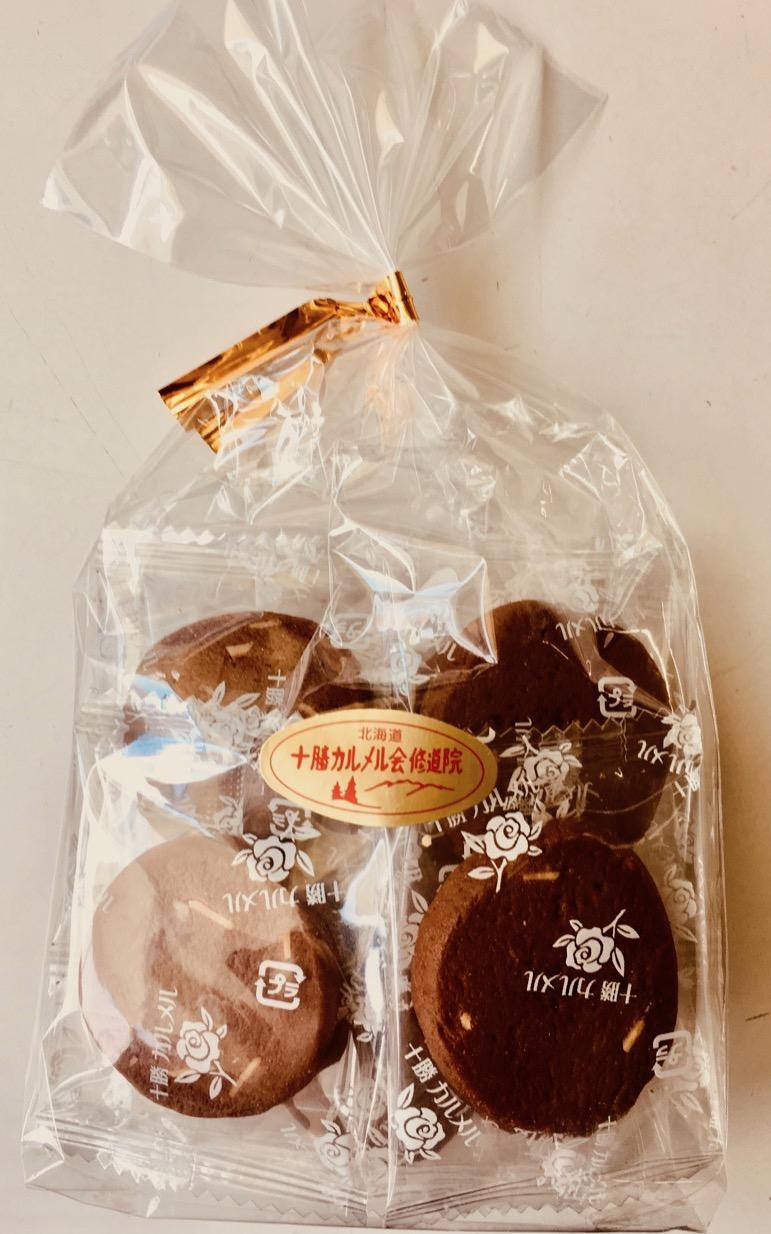 十勝カルメル会クッキーアーモンドココア¥370