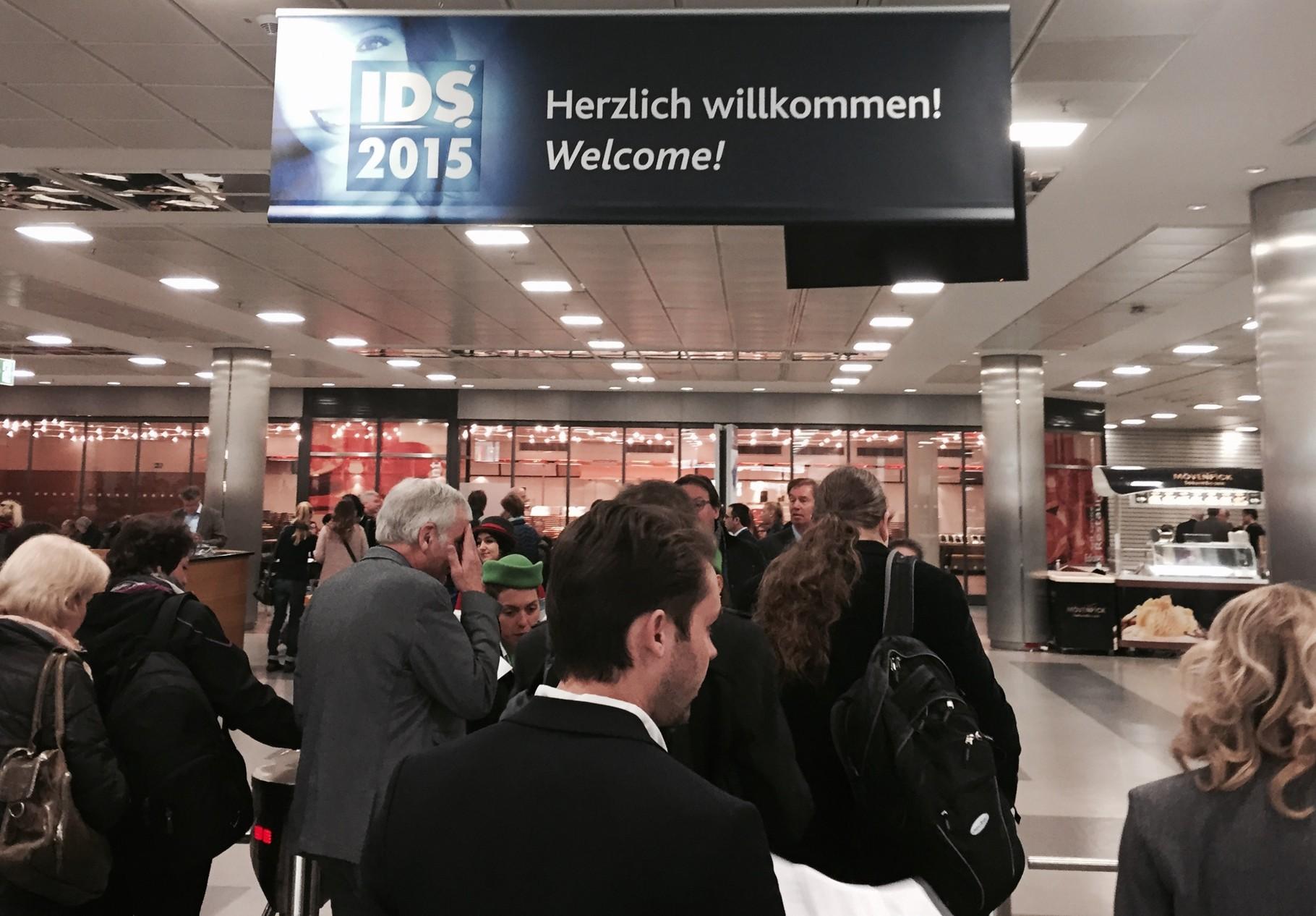 Willkommen auf der IDS 2015