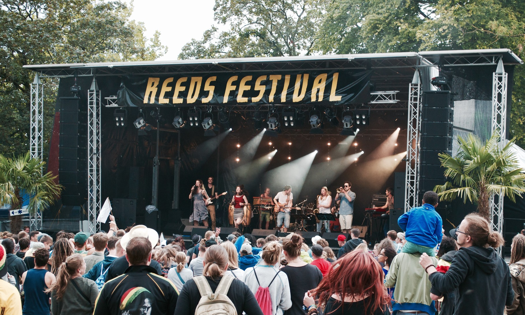 Collie Herb And The Mighty Roots, Reeds Festival, 2015