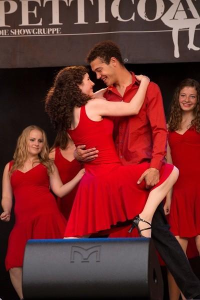 Showgruppe Petticoat, Lyss, 30.07.12
