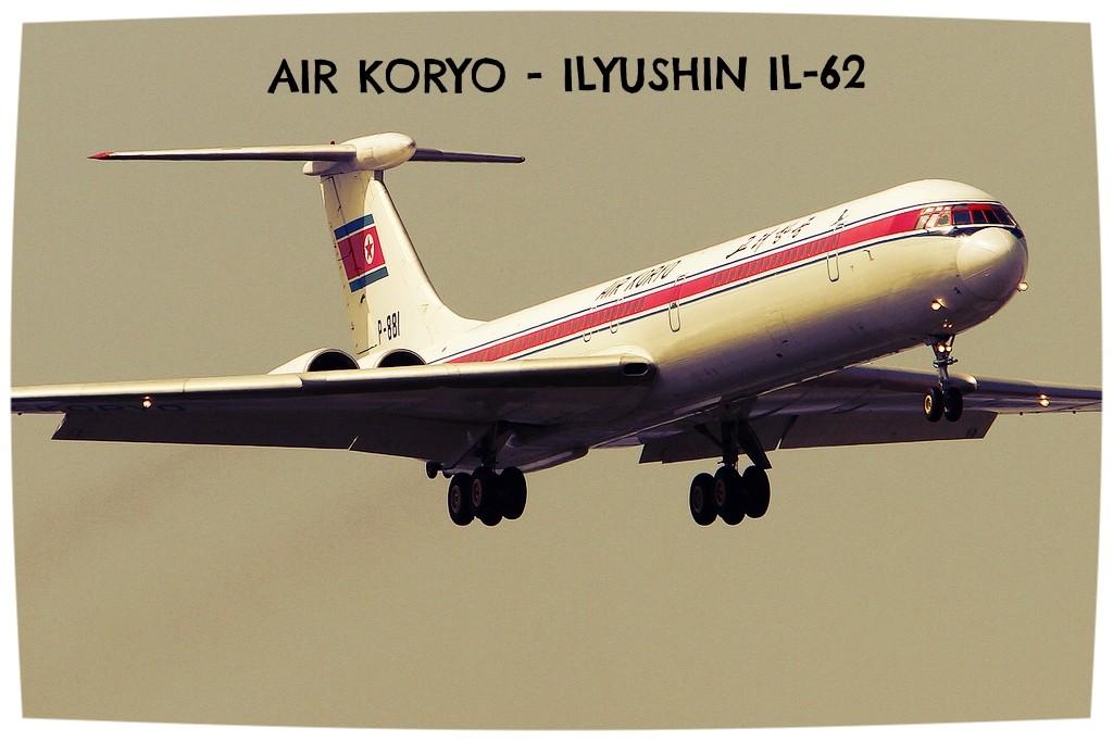 Ilyushin Il-62 Air Koryo