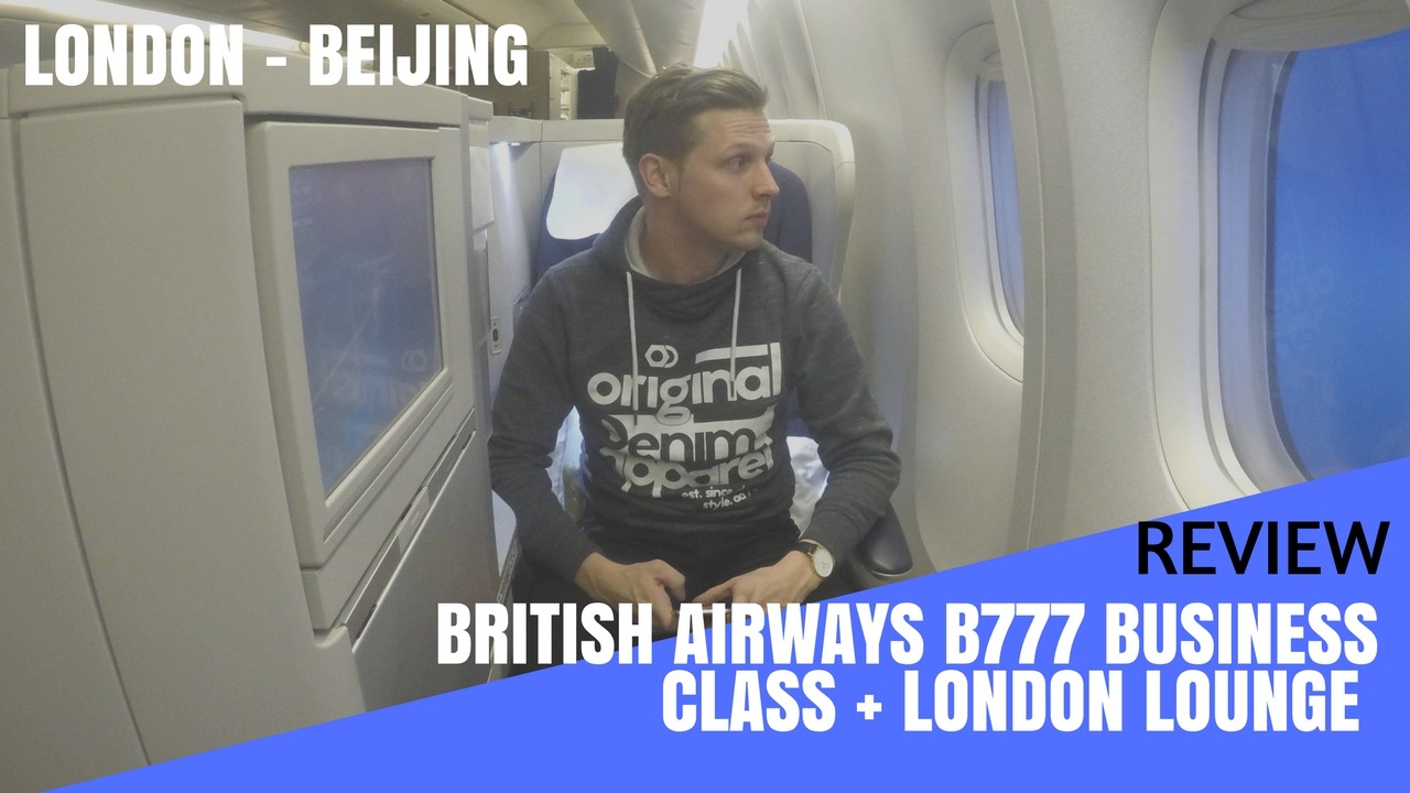 Review British Airways Boeing 777 Business Class Flight