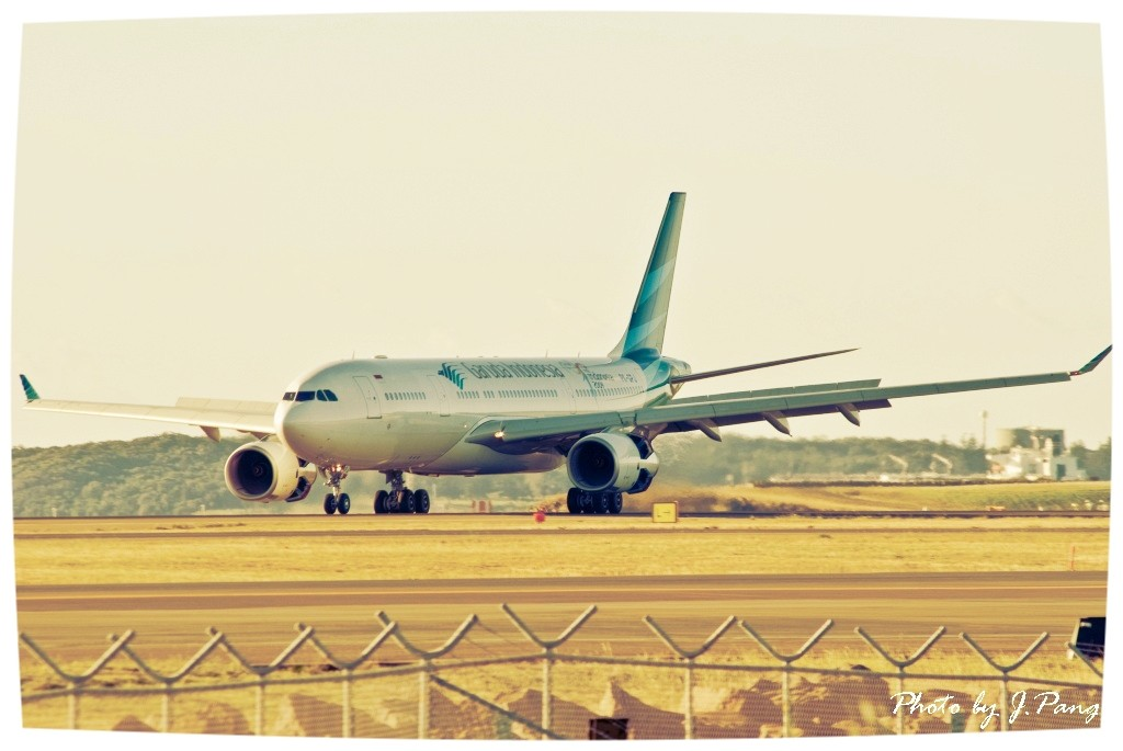 garuda taking off