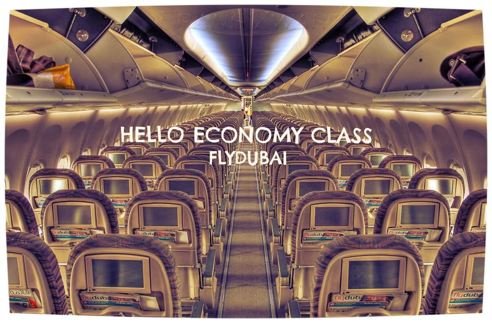 flydubai economy class