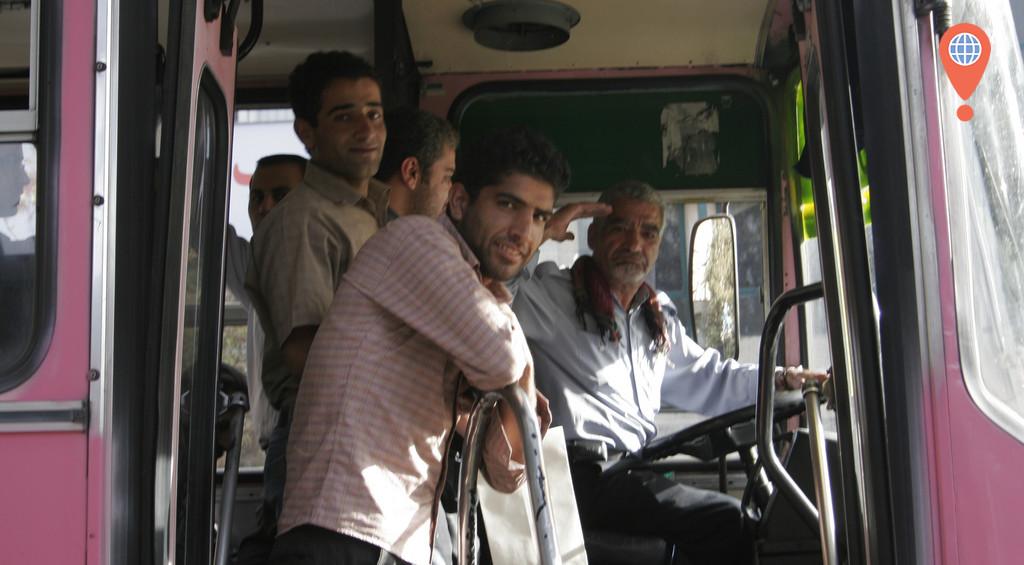 bus in tehran