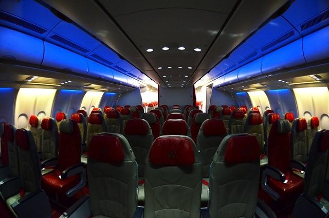 AirAsia x cabin economy