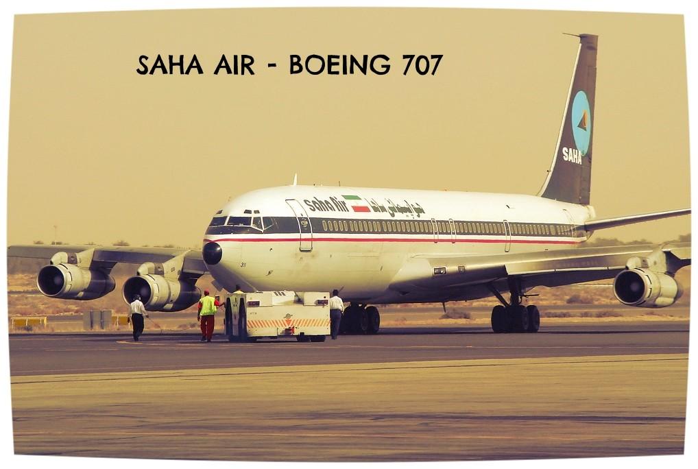 saha air boeing 707