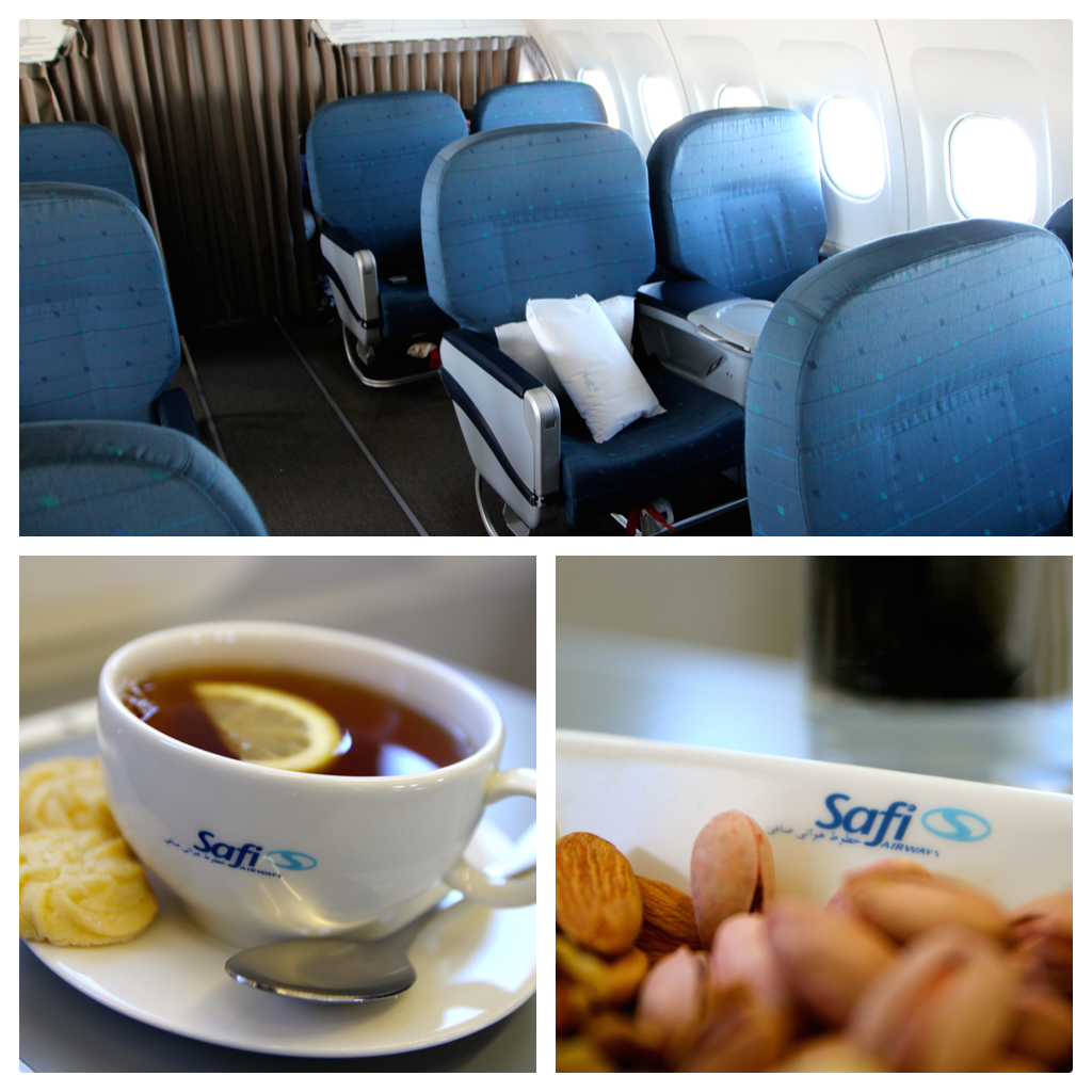safi airways business class