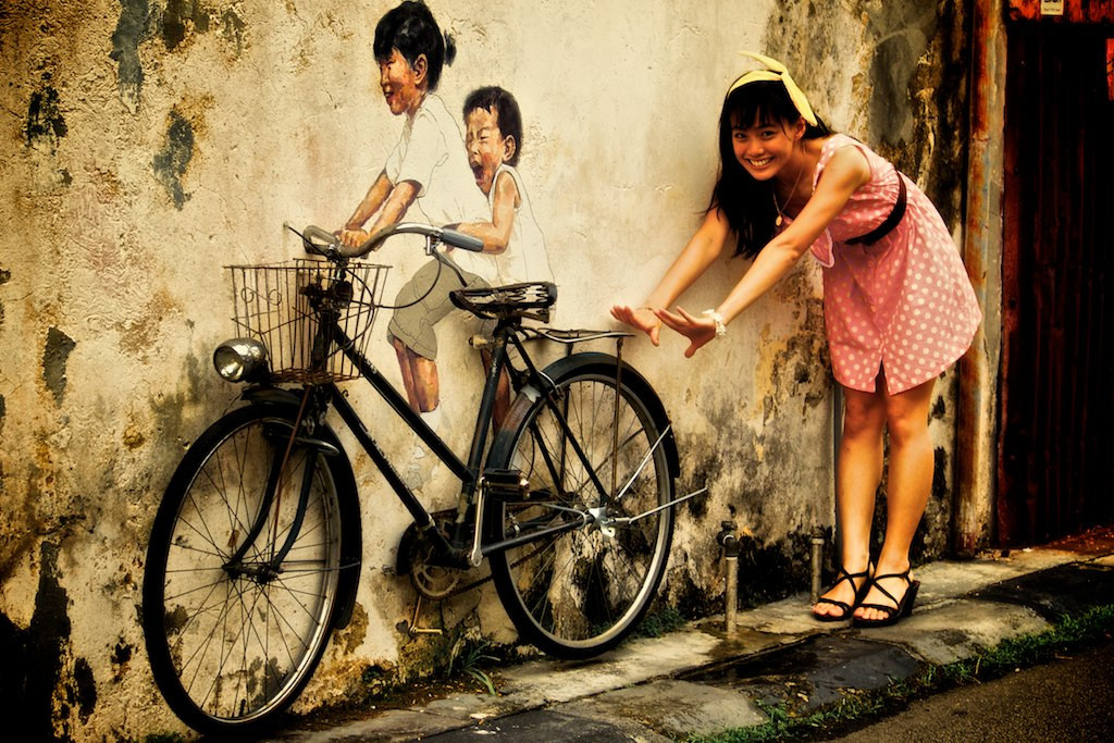 Penang art bike