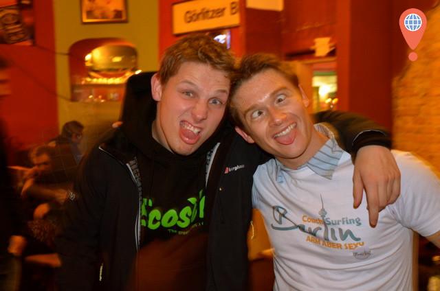 Josh Cahill and Casey Fenton