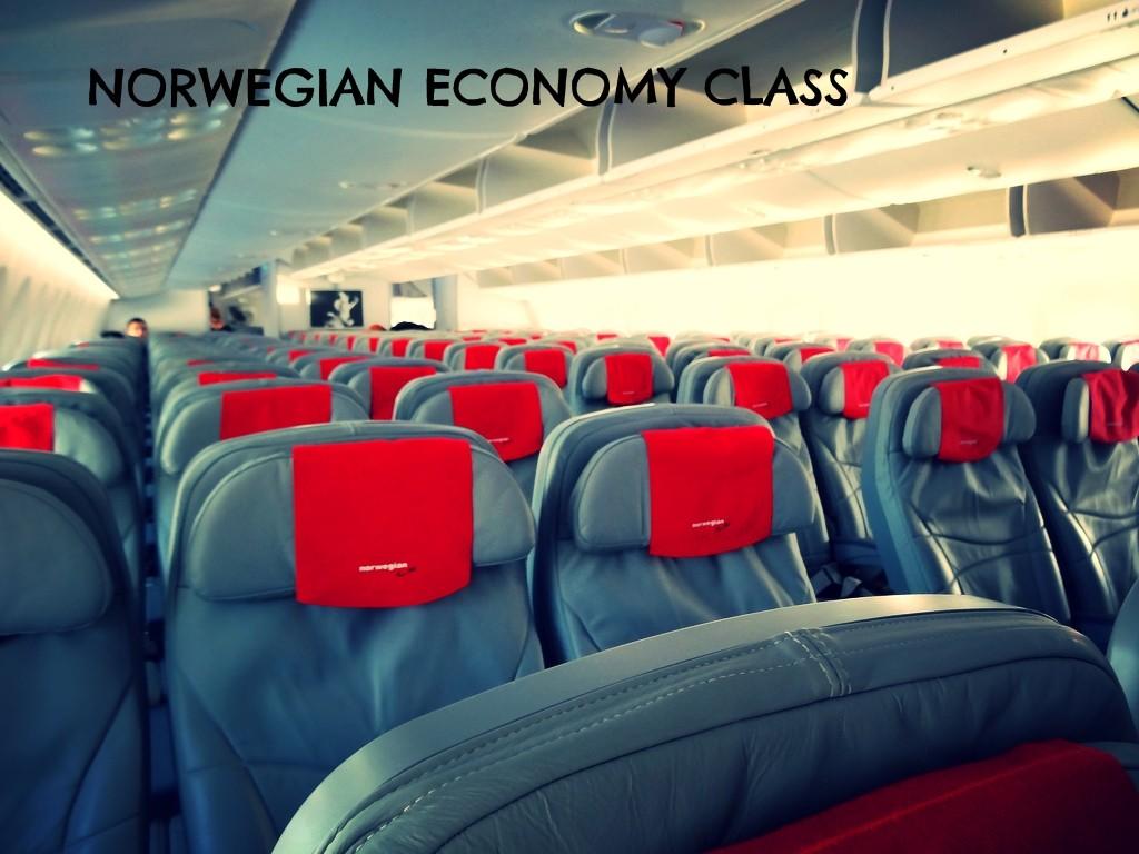 norwegian dreamliner economy class
