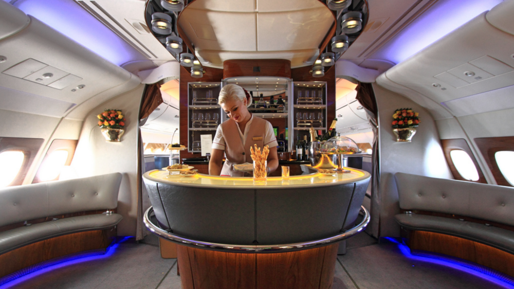 Review The Emirates First Class Cabin And Shower Experience