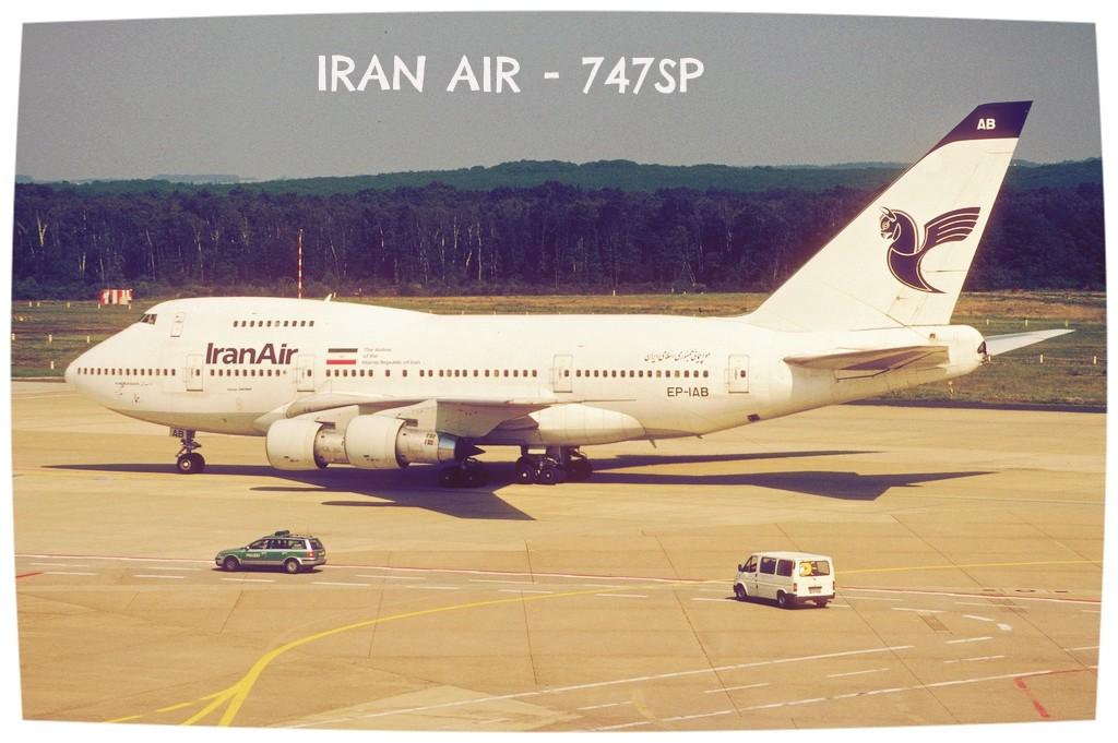 iranair 747sp