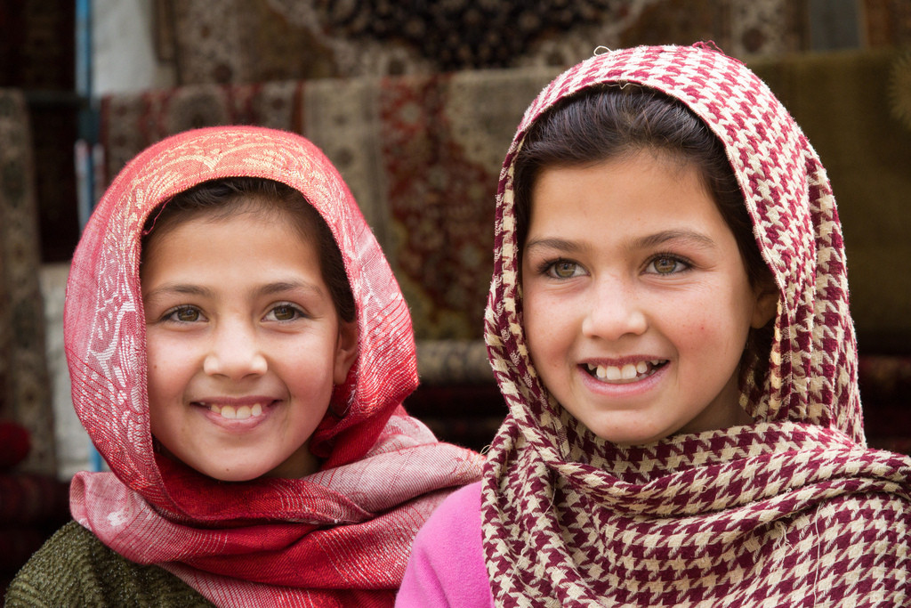 young girls in kabul