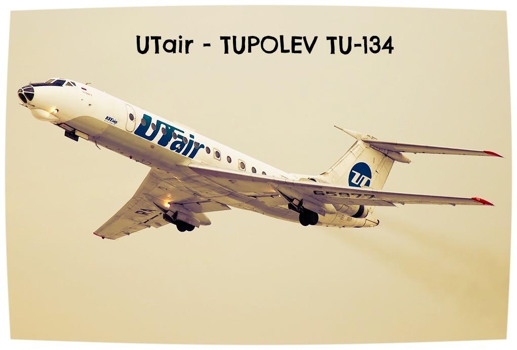 UTair tu-134