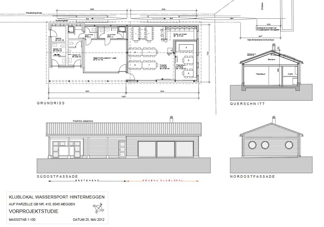 Projektstudie 2012_Übersicht, 1-geschossig – R. Wals, P. DeGroot