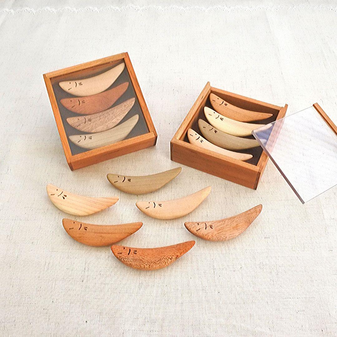 鮎菓子箸置き