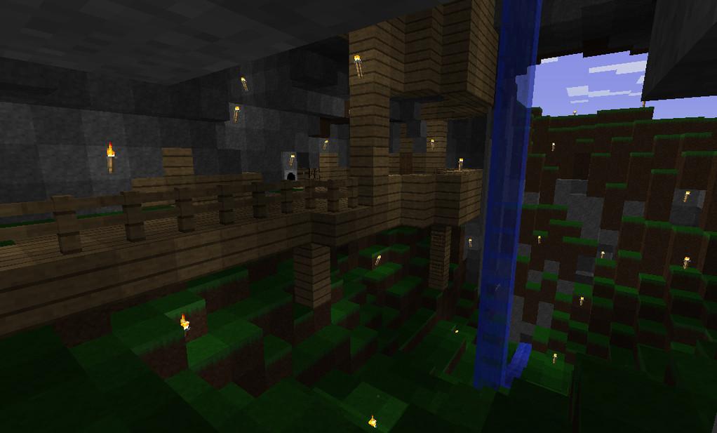 洞窟の住処