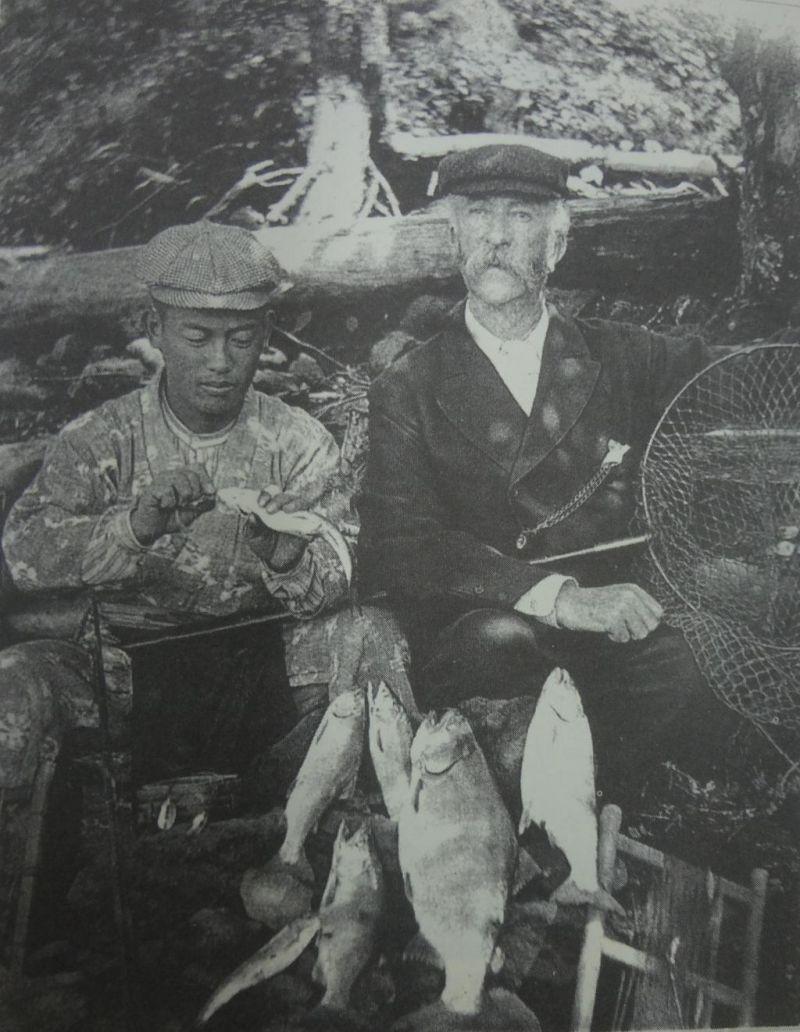 Thomas Blake Glover' Fishing