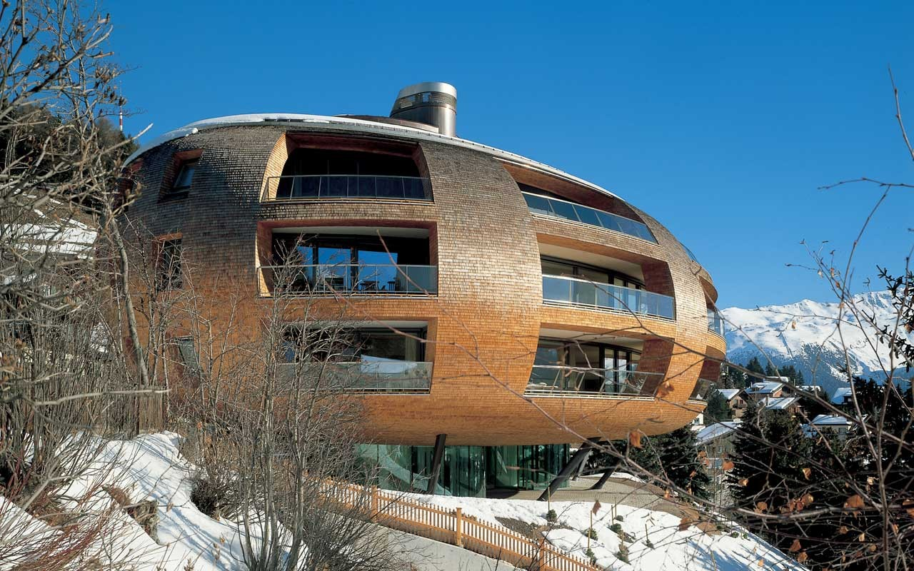 Chesa Futura à St-Moritz, Switzerland