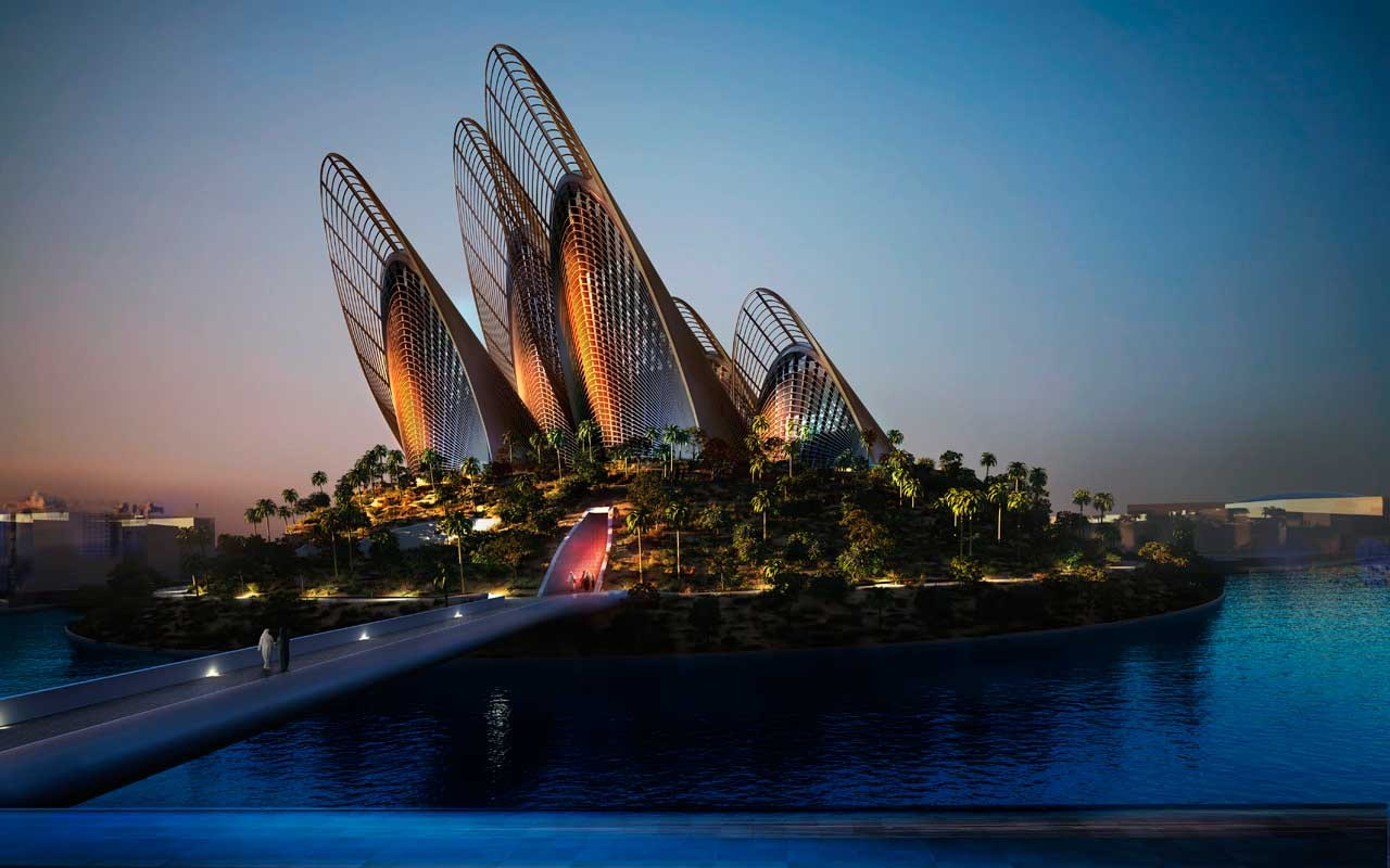 Zayed national museum, Abu Dabi aux Emirates