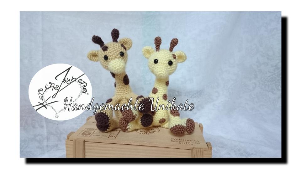 Giraffe mit Rassel, ca 12, cm gross, Chf 42.-