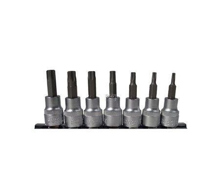 """Länge 30mm Bit-Einsatz 5//16/"""" 8mm Torx-Bit mit Stirnloch T20 bis T50 S2"""