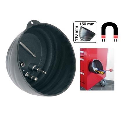 Rostfreie Magnet-Haftschale Ø 150 mm