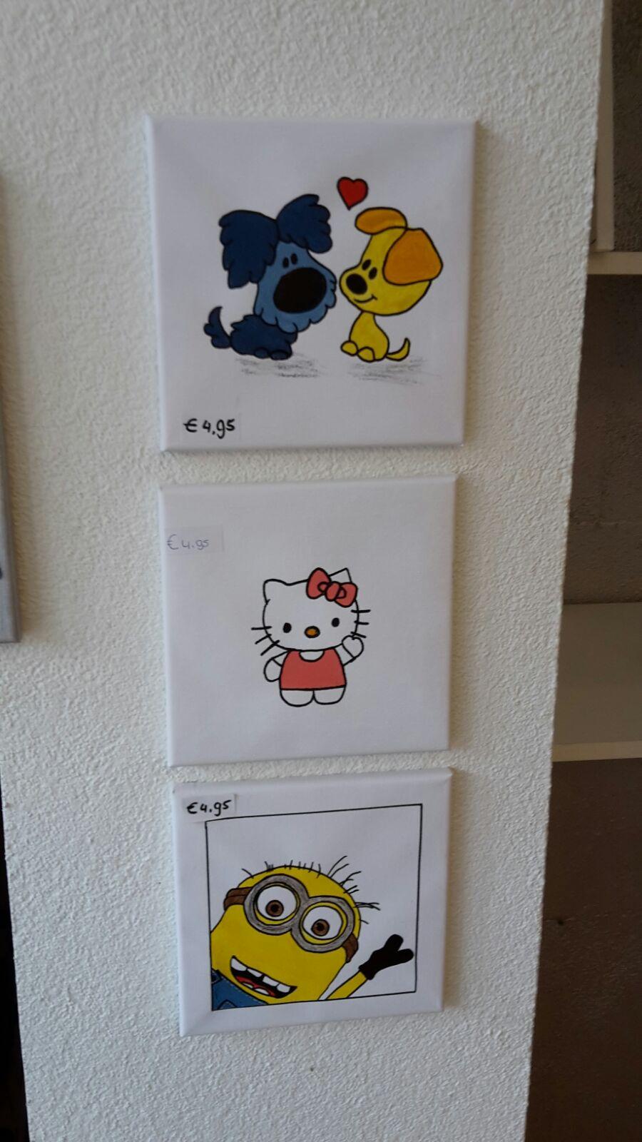 kinderschilderijtjes
