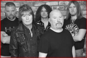 Paul Raymond Project (2015 - current) - (L-R) Tony Steele, Paul Raymond, Mark Coles, Dave Burn, Andy Dodds