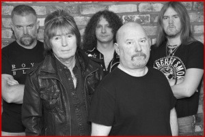 Paul Raymond Project (2015 - current) - (L-R) Tony Steele, Paul Raymond, Mark Coles, Dave Burn, Andy Dodds
