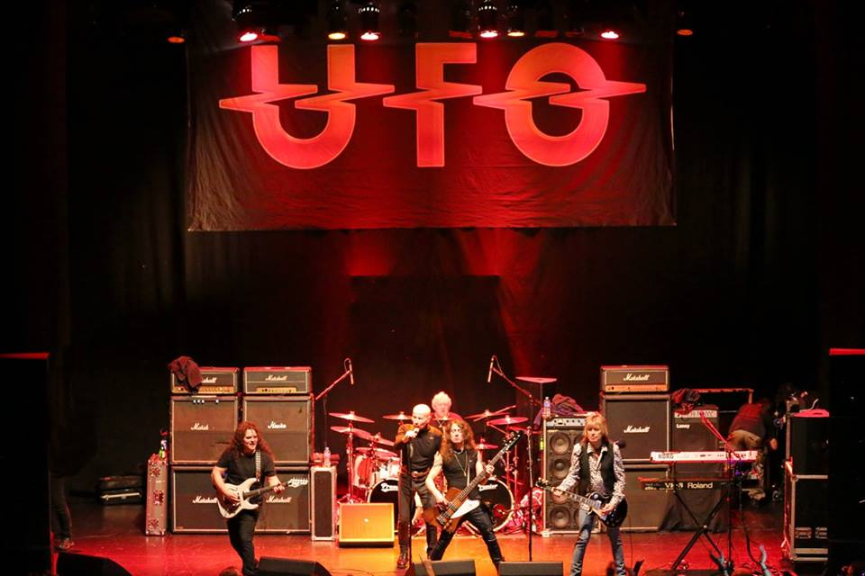 UFO live at Parr Hall, Warrington, England - Oct. 26th, 2016 - pic by Alexander Sedelnikov
