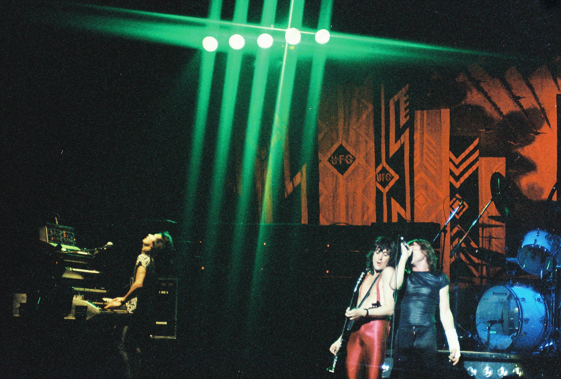 UFO live in Memphis, May 1980 - pic by Scott Bond