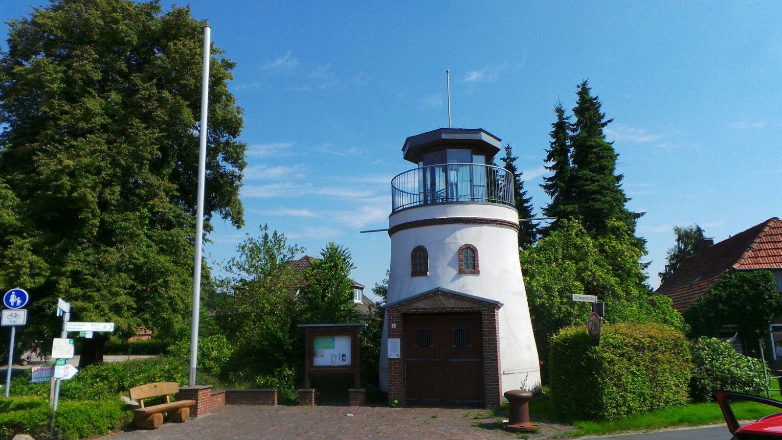 Schifffahrtsdenkmal in Steinhausen.
