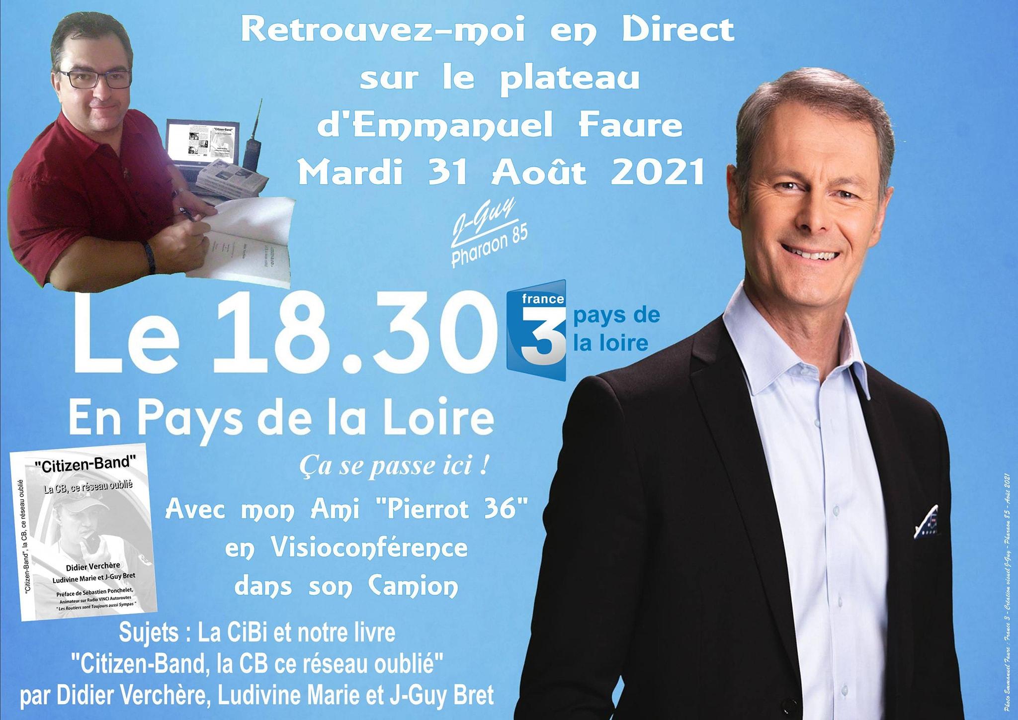 promo émission FR3 Pays de Loire