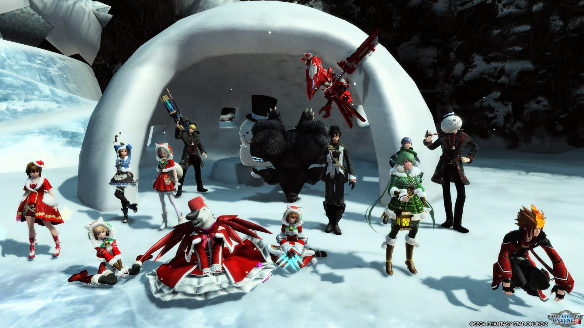 2018年 12月チームイベント集合写真