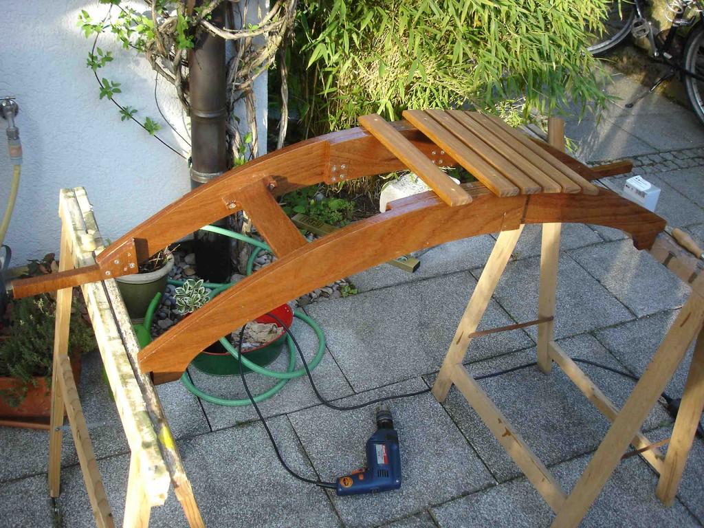 Wir bauen einen Steuermanns-Sitz