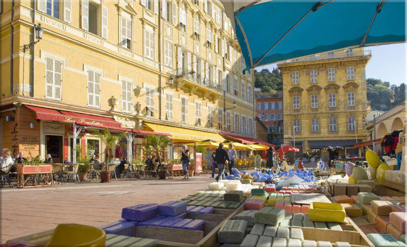 """""""Vieux Nice"""" par Hugues Lagarde"""